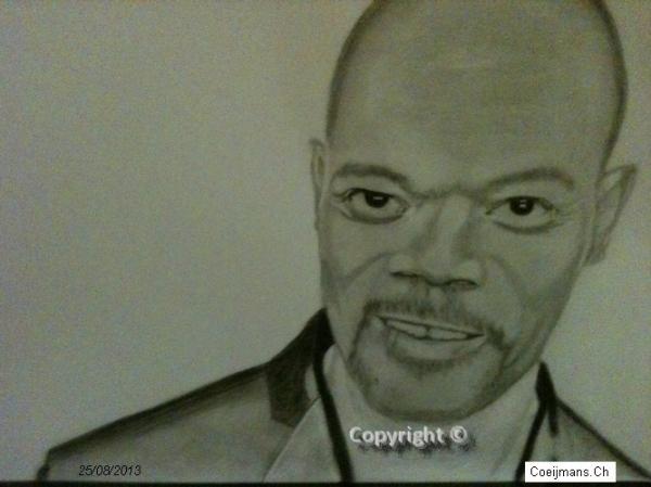 Samuel L. Jackson by desperado007